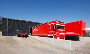 Oles Trucking garage og lagerhal 2